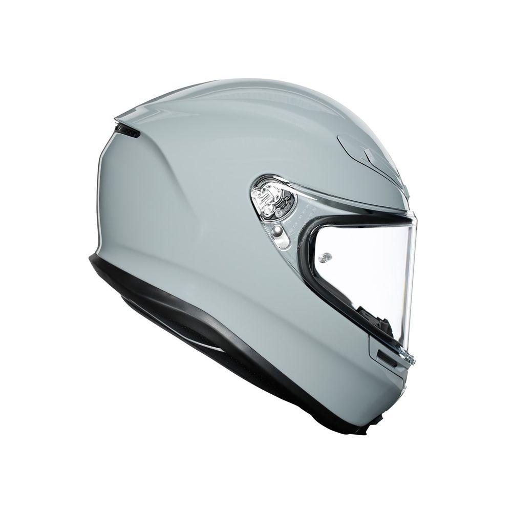 Helmet K6 Agv Ece Solid Nardo Gray Helmets Full Agv