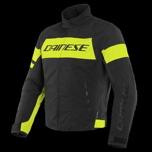 Dainese Saetta D-Dry Mont Black Fluo Yellow