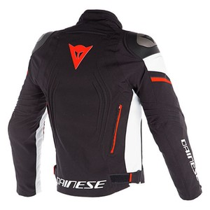 Dainese Racing-3 D-Dry Mont Black White Fluo Red
