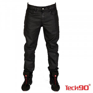 TECH 90 NEW PIRATE KEVLAR SİYAH KOT PANTOLON
