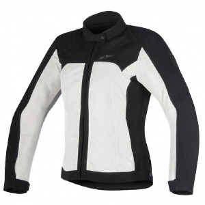 ALPINESTARS ELOISE W.AIR JKT BLACK LIGHT GRAY