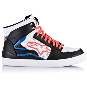 ALPINESTARS STADIUM SHOES BLK WHT RED BLUE