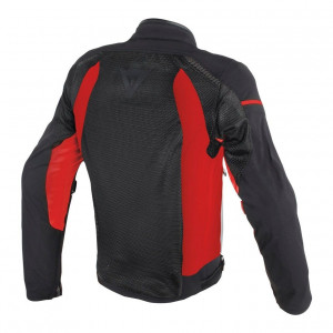 Dainese Air Frame D1 Tekstil Mont Black Red Red