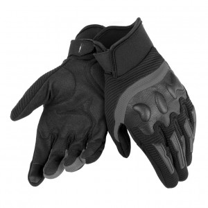 Dainese Air Frame Unisex Gloves Tekstil Eldiven Black Black