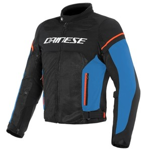 DAINESE AIR FRAME D1 BLACK BLUE TEKSTİL MONT