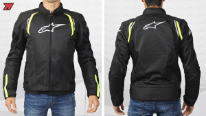 ALPINESTARS AST AIR TX JACKET GREEN BLK
