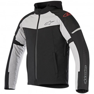 ALPINESTARS STRATOS TECHSHELL DS BLACK LIGHT GRAY