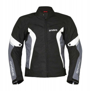 ANDES CONCORD SPORTS FABRIC JACKET SİYAH-GRİ