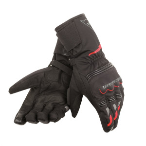 Dainese Tempest Unisex D-Dry Long Eldiven Black Red